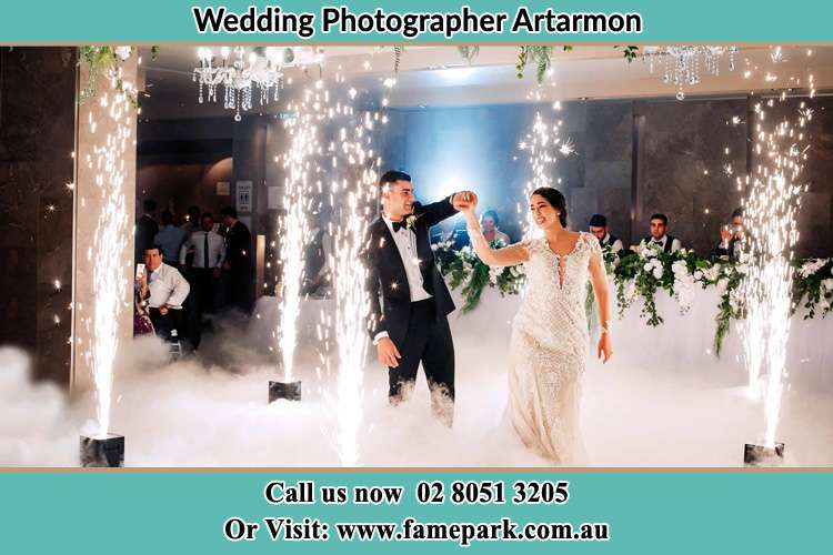 Photo of the Groom and the Bride dancing on the dance floor Artarmon NSW 2064