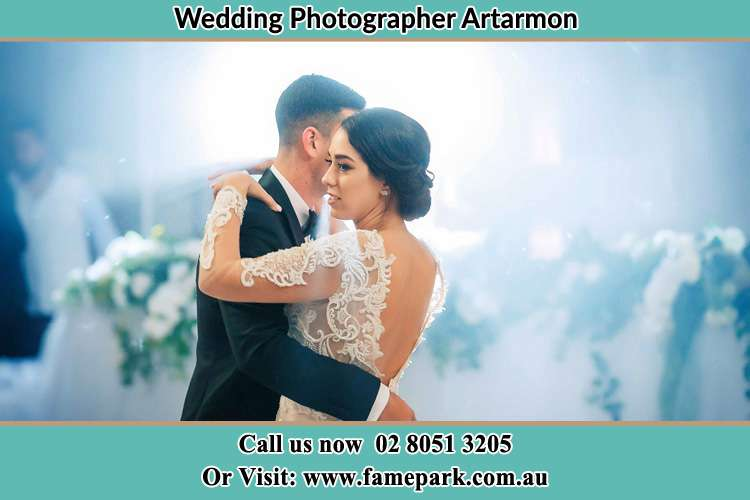 Photo of the Groom and the Bride dancing Artarmon NSW 2064