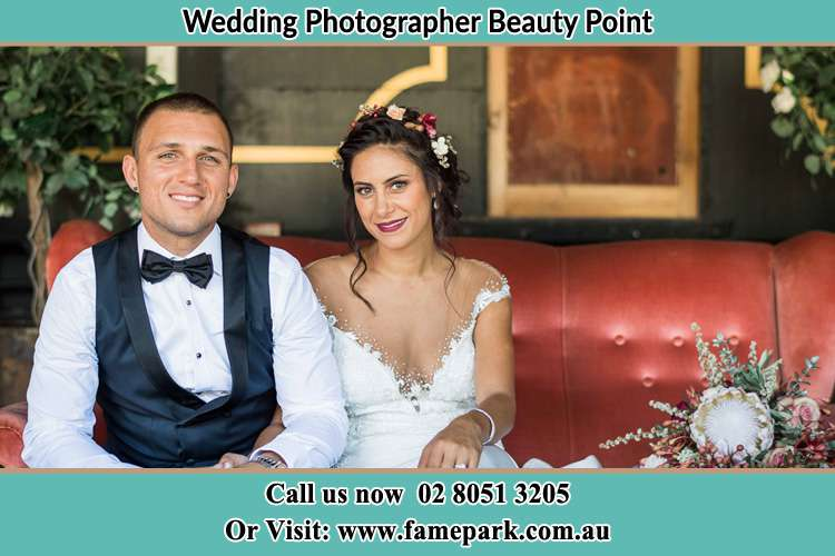 Photo of the Groom and the Bride Beauty Point NSW 2088