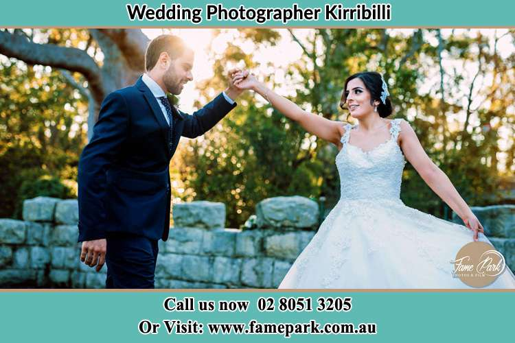 Photo of the Groom and the Bride dancing Kirribilli NSW 2061