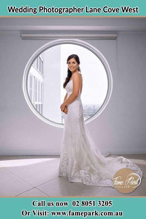 Photo of the Bride near the window Lane Cove West NSW 2066