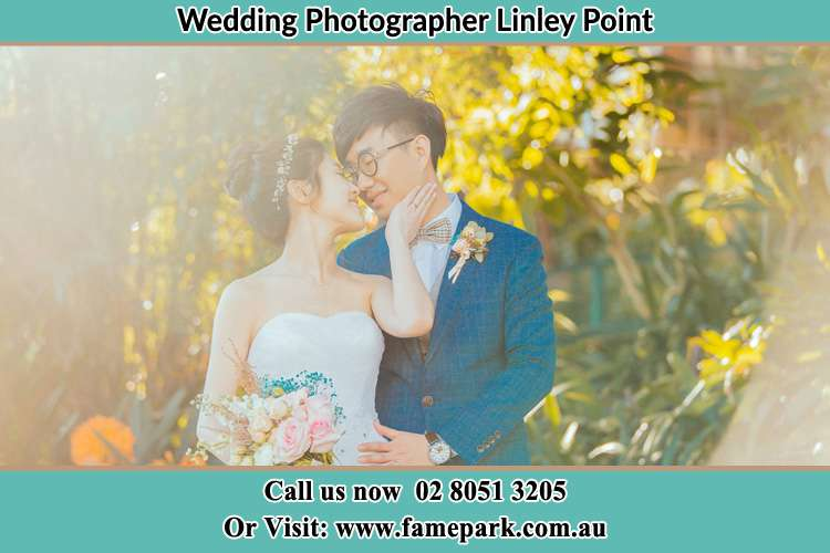 Photo of the Bride and the Groom Linley Point NSW 2066