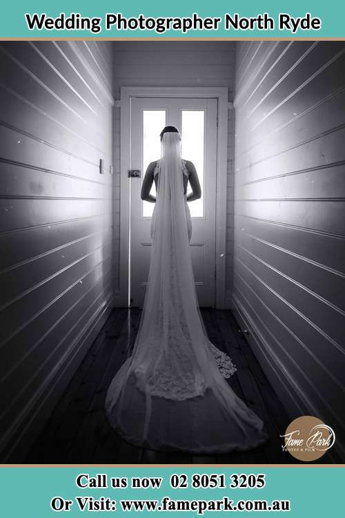 Photo of the Bride going out the door North Ryde NSW 2113