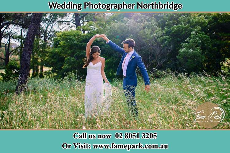 Photo of the Bride and the Groom dancing Northbridge NSW 2063